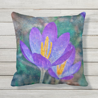 Crocus Outdoor Pillow