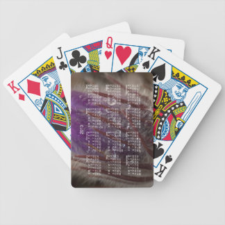 Crocus with Water Beads; 2013 Calendar Bicycle Playing Cards