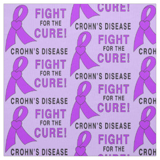 Crohn's Disease Fight for the  Cure Fabric