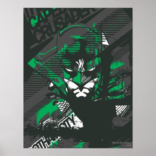 Croisé de Caped de Gotham Affiche