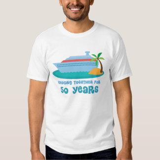 Croisière ensemble pendant 50 années de cadeau t-shirts