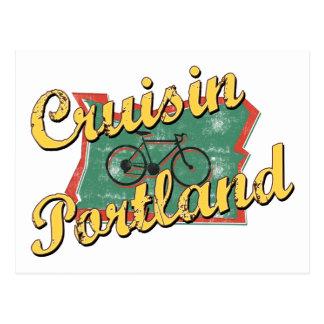 Croisière Orégon de Portland de vélo Cartes Postales