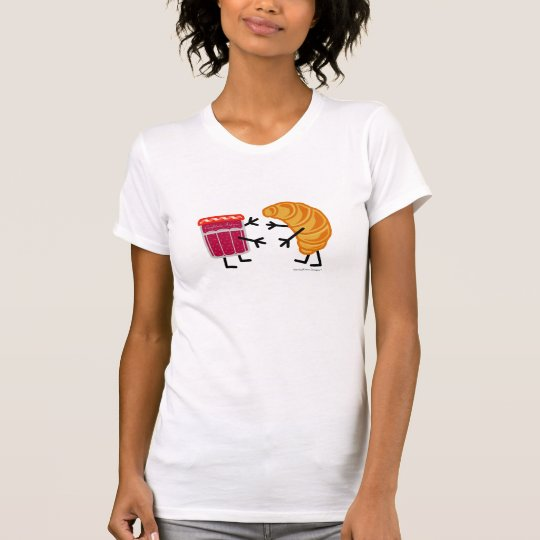 Croissant and Jam - Customizable T-Shirt