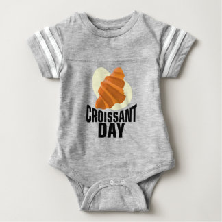 Croissant Day - Appreciation Day Baby Bodysuit