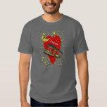 Croissant de lune de désir de tramway de la t-shirts