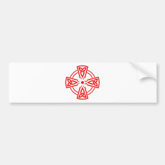 Croix celtique autocollant de voiture