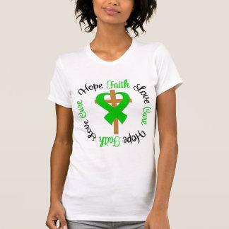 Croix d'amour d'espoir de foi de syndrome de t-shirts
