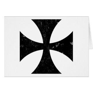 Croix de fer - Allemand/Deutschland Bundeswehr Cartes De Vœux
