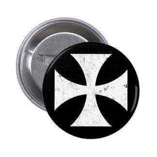 Croix de fer - Allemand/Deutschland Bundeswehr Macaron Rond 5 Cm