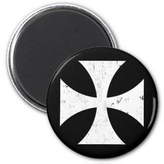 Croix de fer - Allemand/Deutschland Bundeswehr Magnet Rond 8 Cm