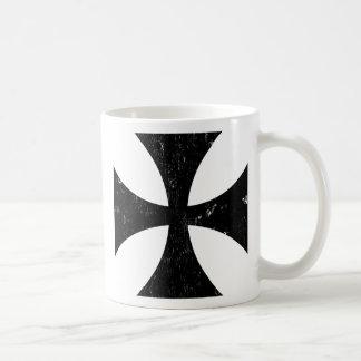 Croix de fer - Allemand/Deutschland Bundeswehr Mug Blanc