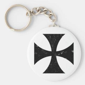 Croix de fer - Allemand/Deutschland Bundeswehr Porte-clé Rond