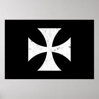Croix de fer - Allemand/Deutschland Bundeswehr Poster