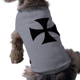 Croix de fer - Allemand/Deutschland Bundeswehr T-shirts Pour Chien