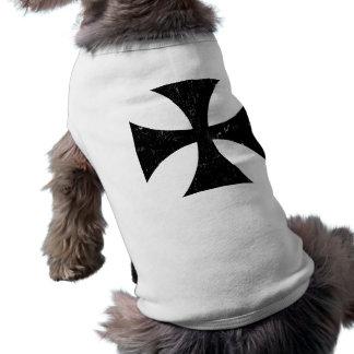 Croix de fer - Allemand/Deutschland Bundeswehr Tee-shirt Pour Chien