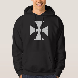 Croix de fer - Allemand/Deutschland Bundeswehr Veste À Capuche