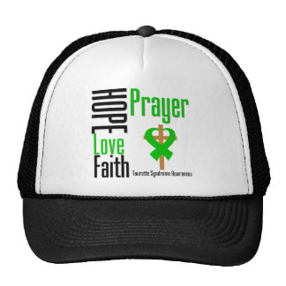 Croix de prière de foi d'amour d'espoir de syndrom casquettes de camionneur