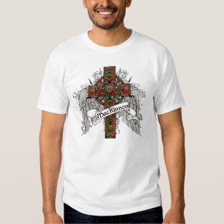Croix de tartan de MacKinnon T Shirts