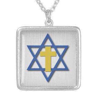 Croix due Messie avec l'étoile de David Bijouterie Personnalisée