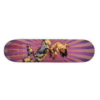 Crom the Gnarbarian Custom Skateboard