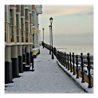 Cromer in winter.. poster