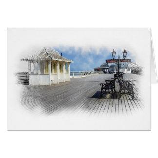 Cromer Pier, England Card