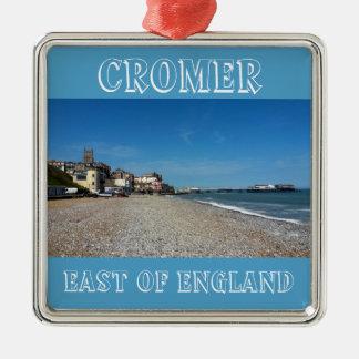 Cromer Town And Pier, Premium Ornament