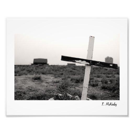 Crooked Cross Photo Print