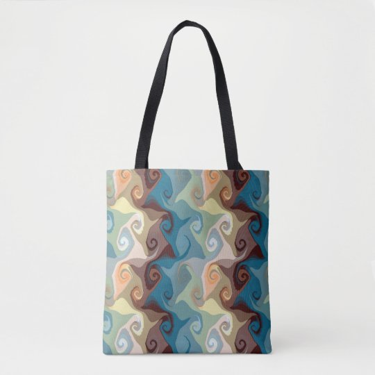 Crooked Curls Tote  Bag by Julie Everhart