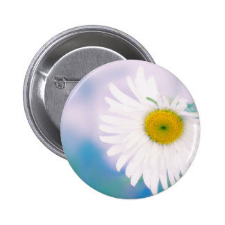 Crooked Daisy 2 Inch Round Button