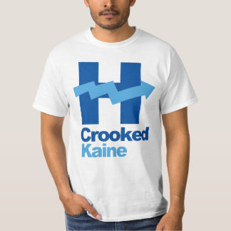 Crooked Hillary and Tim Kaine 2016 T-Shirt