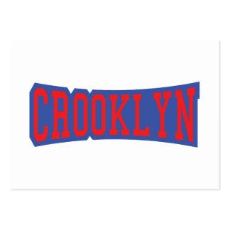 CROOKLYN, NYC LARGE BUSINESS CARD