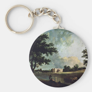 Croome Court In Worcestershire By Richard Wilson Keychain
