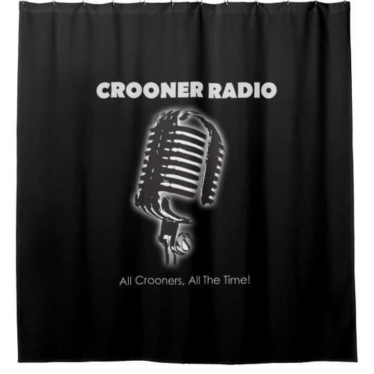 Crooner Radio Shower Curtain