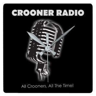 Crooner Radio Wall Clock