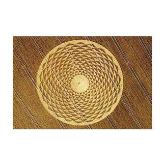"""Crop Circle-36""""x24""""Gallery Canvas"""