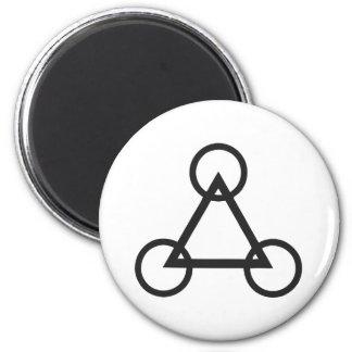 Crop circle 8 magnet