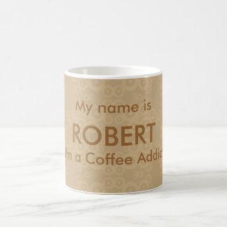 Crop Circle Coffee Addict Coffee Mugs