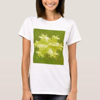 Crop Circle Koch Snowflake Silbury Hill 1997 T-Shirt