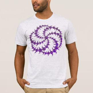 Crop Circle Purple T-Shirt