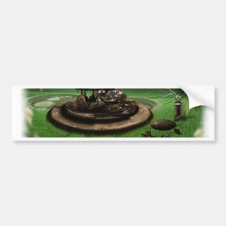 Crop Circle Time Machine Bumper Sticker