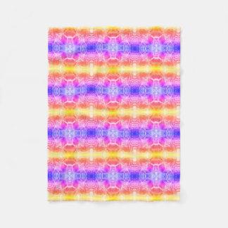 Crop Circles Fleece Blanket