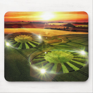 Crop Circles Mouse Pad