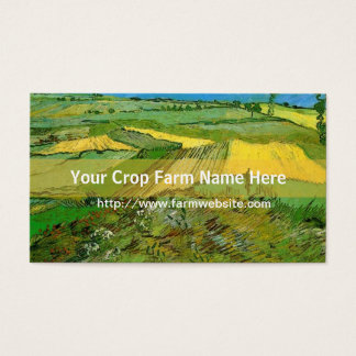 Crop farm business card