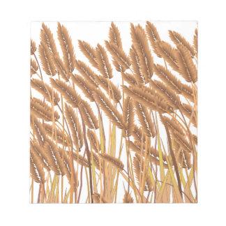 Crop Field Notepad