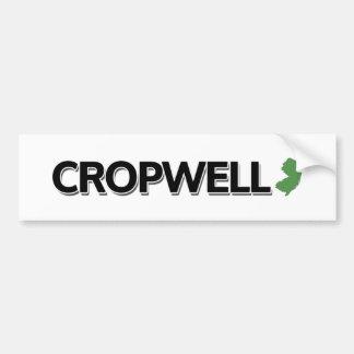 Cropwell, New Jersey Bumper Sticker