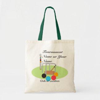 Croquet Club Player Team Tote Bag