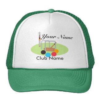 Croquet Club Player Team Trucker Hat