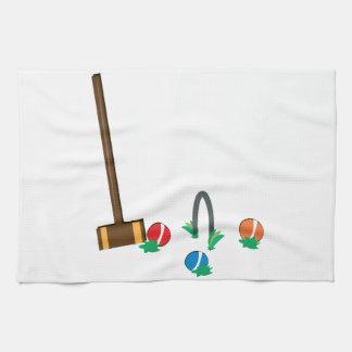Croquet Kitchen Towel
