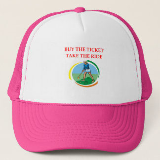 croquet trucker hat